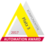 Automation Award 2017 - 3rd place for components