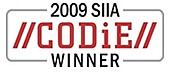 Logo of CODiE-Award Winner 2009, Best Digital Rights Management Solution