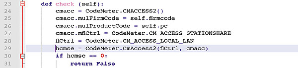 "The ""CmAccess2"" function"