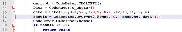 "The ""CmCrypt2"" function"