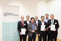 Picture of the winners of the German IT Security Award 2014